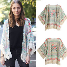 Unbranded Plus Size Floral Coats & Jackets for Women