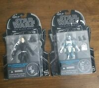 Star Wars The Black Series Lot: Imperial Navy Commander / Clone Commander Wolffe