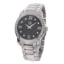 ESQ by Movado Women's Verona Black Diamond Accent Watch 07101205