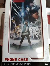 Star Wars IPhone 6/7 plus Bump Cell Phone Protector Case White Disney Lucas film