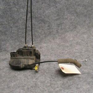 2004-2006 Nissan Quest LH Front Power Door Latch Mechanism w/ Cables OEM 39959