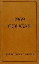 2001 cougar owners manual