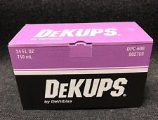 DeVilbiss 802759 DPC-606 DeKups Reusable Sleeve & Lid for 24oz. Cups (DPC-606)