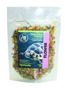 Komodo Tortoise Topper Enrichment Food Flower, Herbal, Fruit & Veg - leaves weed
