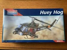 Huey Hog Helicopter Model Kit 1:48 Scale By Monogram