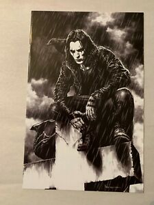 THE CROW LETHE #3 IDW 2020 MICO SUAYAN VIRGIN VARIANT COVER BIG TIME COLLECTIBLE