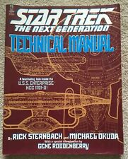 Star Trek: The Next Generation - Technical Manual by Sternbach, Rick Paperback