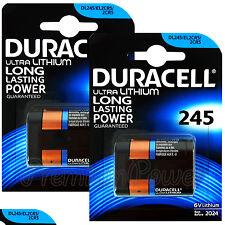 2 x Duracell Ultra Lithium DL245 2CR5 6V batteries DL245 ELCR5 Photo EXP:2024