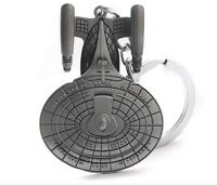 Star Wars Star Trek Spaceship Warships Enterprise Stereoscopic Keychain Keyring