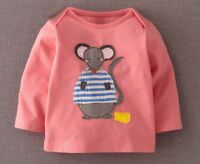 New Cute Girls Long Sleeve Top Size: 18M, 3, 4, 5, 6