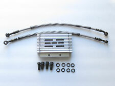 RACING  SILVER OIL COOLER RADIATOR SET FOR HONDA CRF 50 XR 50 70Z