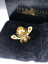 Joan Rivers Limited Classics Collection Bee Pin#J5334, 22 Cut Crystal Design