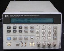 New Listinghewlett Packard 8904a Dc 600khz Multifunction Synthesizer Opt 002 Sn 2901a01911