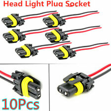 10x 9005 9006 Adapter Wiring Harness Socket Headlights Fog Light Plug Connector