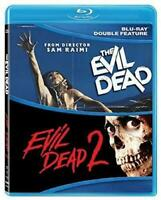 Evil Dead 1 & 2 Double Feature [Bruce Campbell] [2017] [Horror] [Blu-ray] HLW