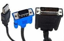 Cable M1 a VGA con USB de 1.8 m