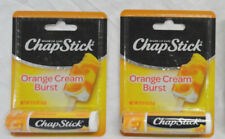 2-Pack Chapstick Orange Cream Burst, Brand New Free Shipping W/ Fast Ship-Out