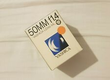 Yashica ML 50mm 1.4 New Old Stock