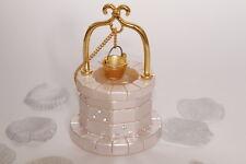Italian Lucky Wedding Wishing Well decorations/ favours, pearl, gold rhinestone
