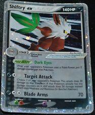 Holo Foil Shiftry ex # 97/100 EX Crystal Guardians Set Pokemon Trading Cards DA