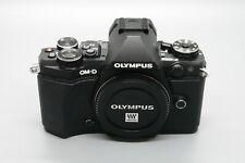 New listing Olympus Om-D E -M5 Ii 20.4 Mp Mirrorless Digital Camera Body- Black Pristine