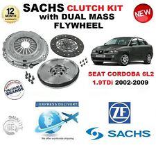 POUR SEAT CORDOBA 6L2 1.9 TDi 131BHP KIT EMBRAYAGE 02-09 avec VOLANT MOTEUR &