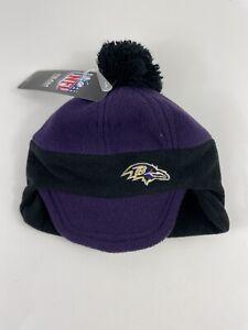 Baltimore Ravens Kids Toddler Winter Hat Cap Boys One Size