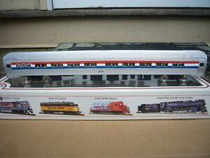 Bachmann HO LIGHTED 85' Amtrak 21917 Budd Fleet Coach ~ GREAT SHAPE  BARELY USED