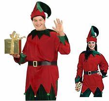 Santas Helper Deluxe Velour Christmas Elf Costume XL Tunic  Men Women Unisex