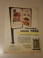 REX FRIGORIFERO ELETTRODOMESTICO=ANNI '50=PUBBLICITA=ADVERTISING=WERBUNG=471