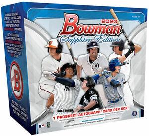 2020 Bowman Sapphire Edition Baseball Live Random Player 1 Box Break #1