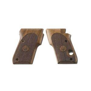 Beretta OEM Replacement Wood Handgun Grips for Tomcat 3032 - UD6A0354