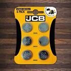 6 X JCB CR2032 CR2025 CR2016 3V Lithium Button Coin Cell Battery DL2032 BR2032 <br/> 2 COINS EACH OF CR2016, CR2025, & CR2032