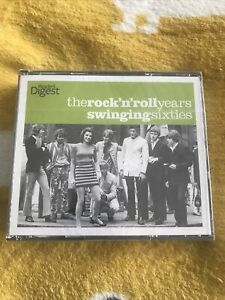 Readers Digest The Rock 'n' Roll Years Swinging Sixties 3 Disc Box Set Brand New