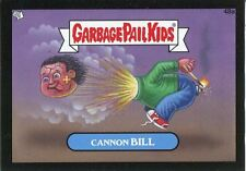 Garbage Pail Kids Mini Cards 2013 Black Parallel Base Card 48a Cannon BILL