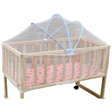 Summer White Safe Baby Mosquito Nets Cradle Bed Canopy Mosquito Net Toddler Z1H3