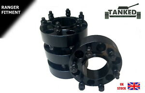 Ford Ranger  Wheel Spacers  Hub Centric 93.1 Centre 38 mm Vehicle Specific  x 4