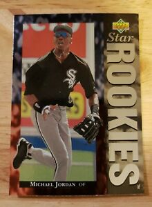 1995 Upper Deck baseball Michael Jordan RC # 19