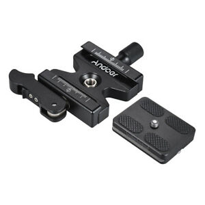 Quick Release QR Plate Clamp Mount Holder for Tripod Ball Head Arca-Swiss T5R5