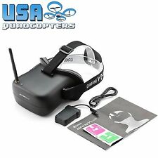 Eachine VR-007 FPV Goggles Video System 5.8GHz w/ Battery, Screen & Receiver