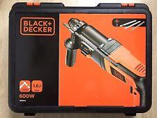 Black & Decker KD860KA neumática martillo perforador 600W,1 .6J SDS, caja del kit, 3 Bits
