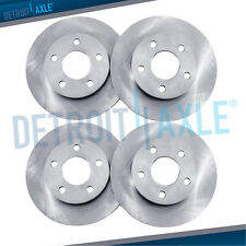 Front & Rear Brake Rotors for 2008 2009 2010 2011 2012 2013 - 2017 Nissan Rogue