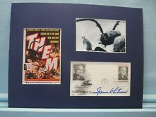 "1950's sci-fi thriller - ""Them"" starring James Whitmore and his autograph"