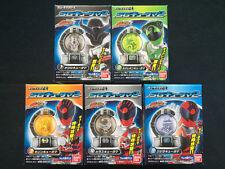 Bandai Power Rangers Uchu Sentai Kyuranger SG Kyutama 2 Candy Toy Set of 5 Japan