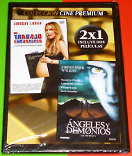 ANGELES Y DEMONIOS + UN TRABAJO EMBARAZOSO / THE PROPHECY + LABOR PAINS -DVD R2-