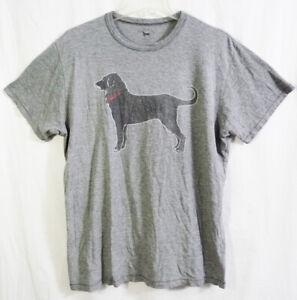 Vintage The Black Dog Label Dark Heather Gray T-shirt