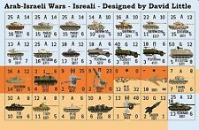 Replacement Counters for Avalon Hill's Arab Israeli Wars – Die-Cut