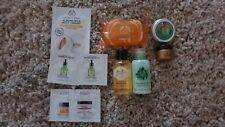 The Body Shop mixed items lip balm, shower gel, soap, body lotion