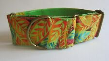 Martingale Collar, 2 inch (5 cm) wide for SMALL greyhounds or whippets