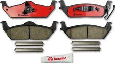 Disc Brake Pad Set-Premium NAO Ceramic OE Equivalent Pad Rear Brembo P56091N